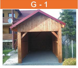 GG-1 drevená garaz