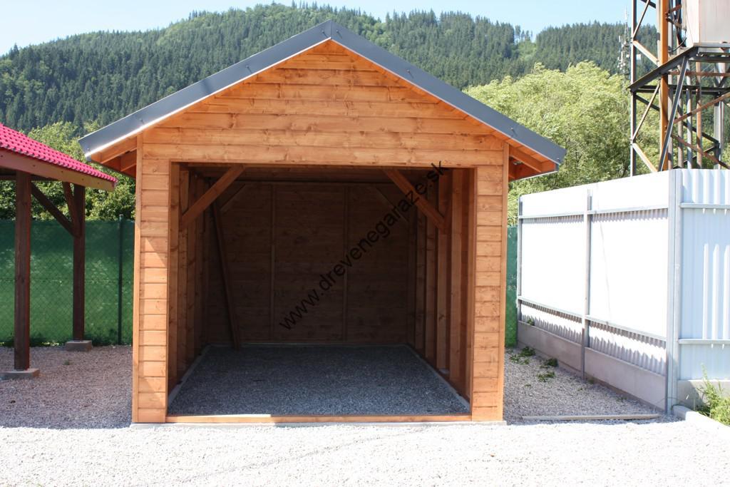 Drevene garaze z polska